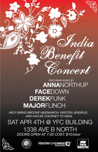 benefit concert for india